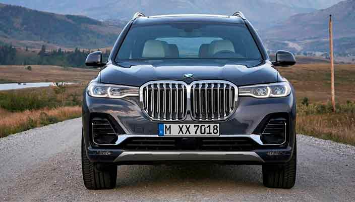Серийный BMW X7 показали официально | фото, видео