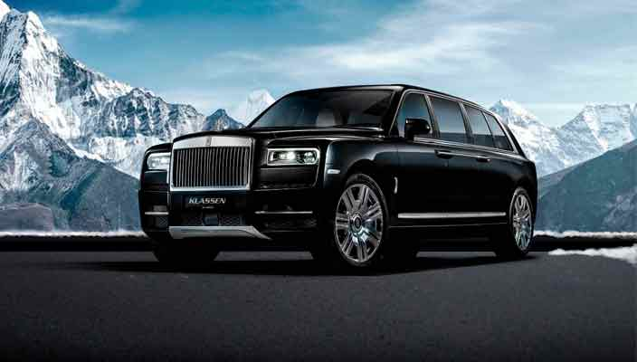 Создан бронированный Rolls-Royce Cullinan от Klassen | фото