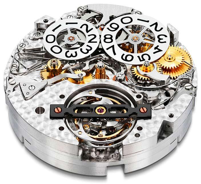Калибр часов Chopard L.U.C 0.2-15-L с запасом хода 216 часов