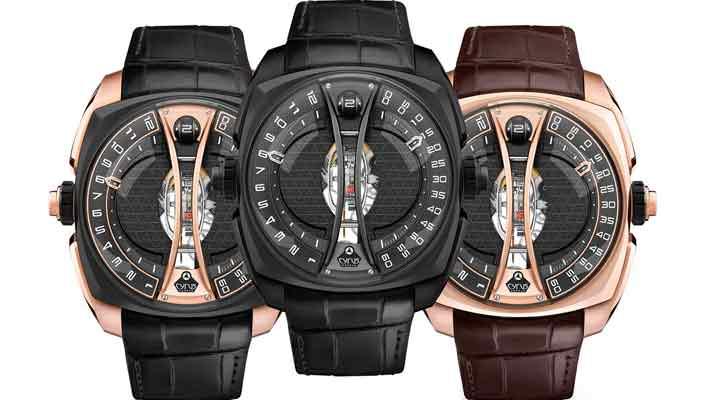 Вышли часы с вертикальным турбийоном от Cyrus Watches | инфо