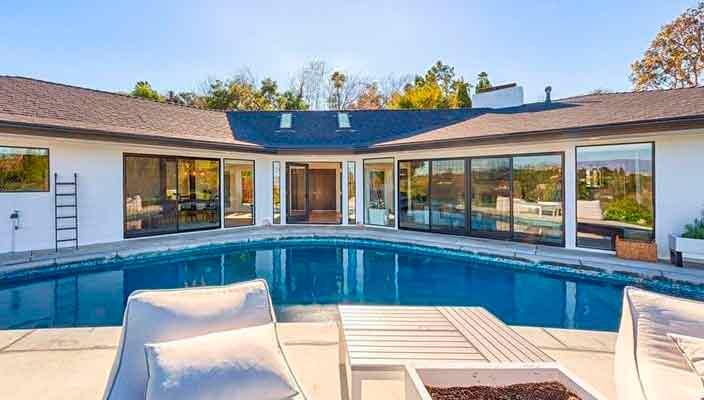 Актриса Кэти Кэссиди сдает дом в Энсино в аренду | фото, цена