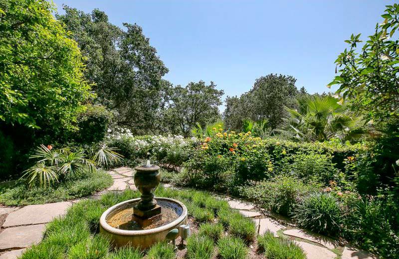 Сад у дома Роберта Редфорда