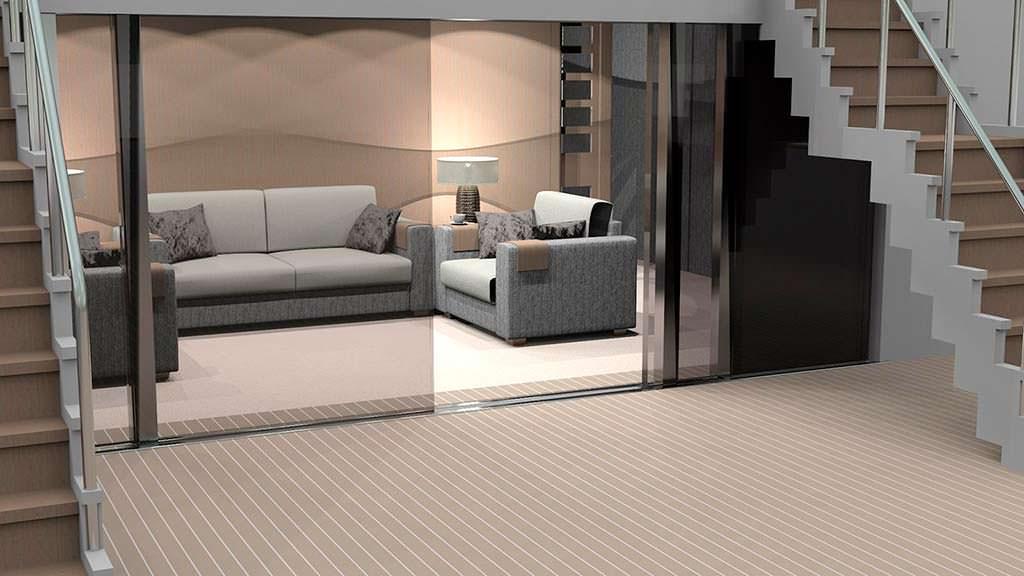 Салон яхты Europa от Peter Bolke Design