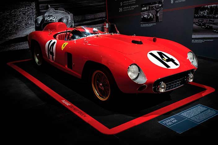 Коллекционная Ferrari 290 MM 1956 года. 1 из 4 выпущенных