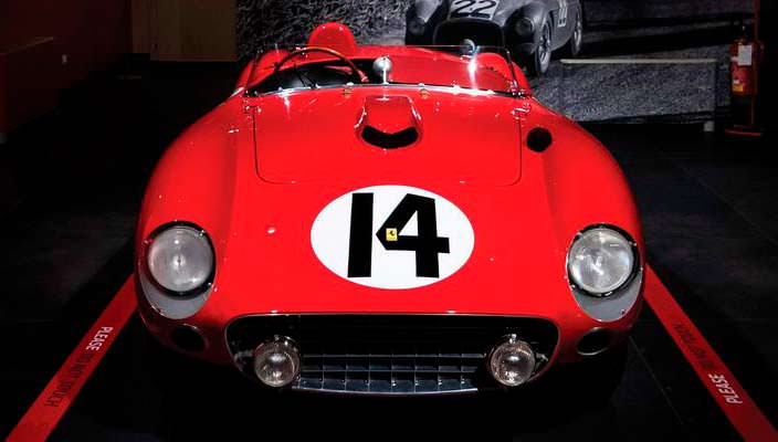 Классическая Ferrari 290 MM 1956 года уйдет с молотка | фото
