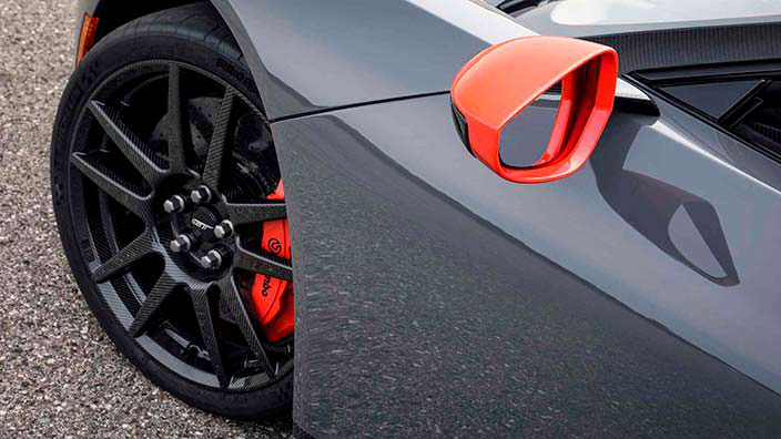 Ford GT Carbon Series. Колеса из углеродного волокна