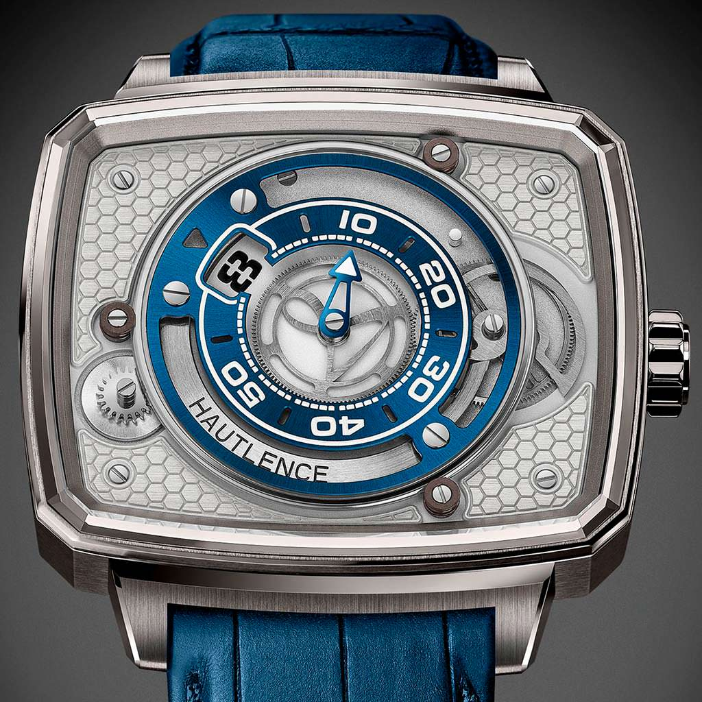 Часы с прыгающим часом Hautlence HL Newton