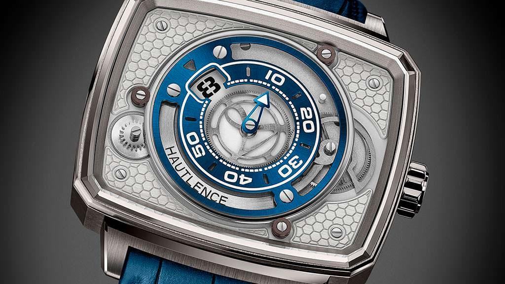 Часы с альтернативным отображением времени Hautlence HL Newton