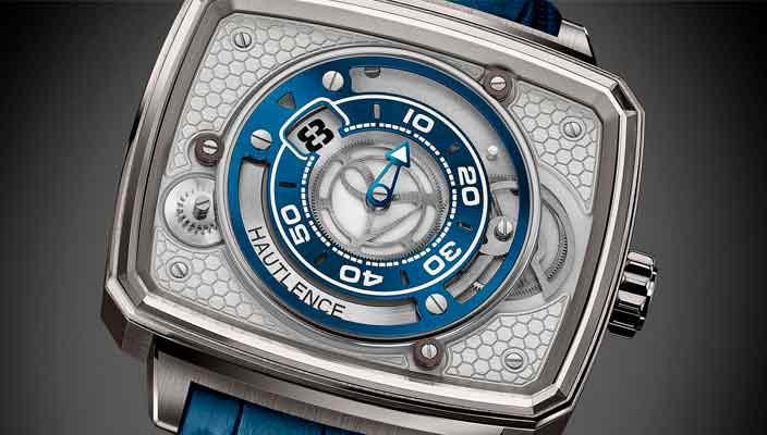 Hautlence представила часы с прыгающим часом HL Newton