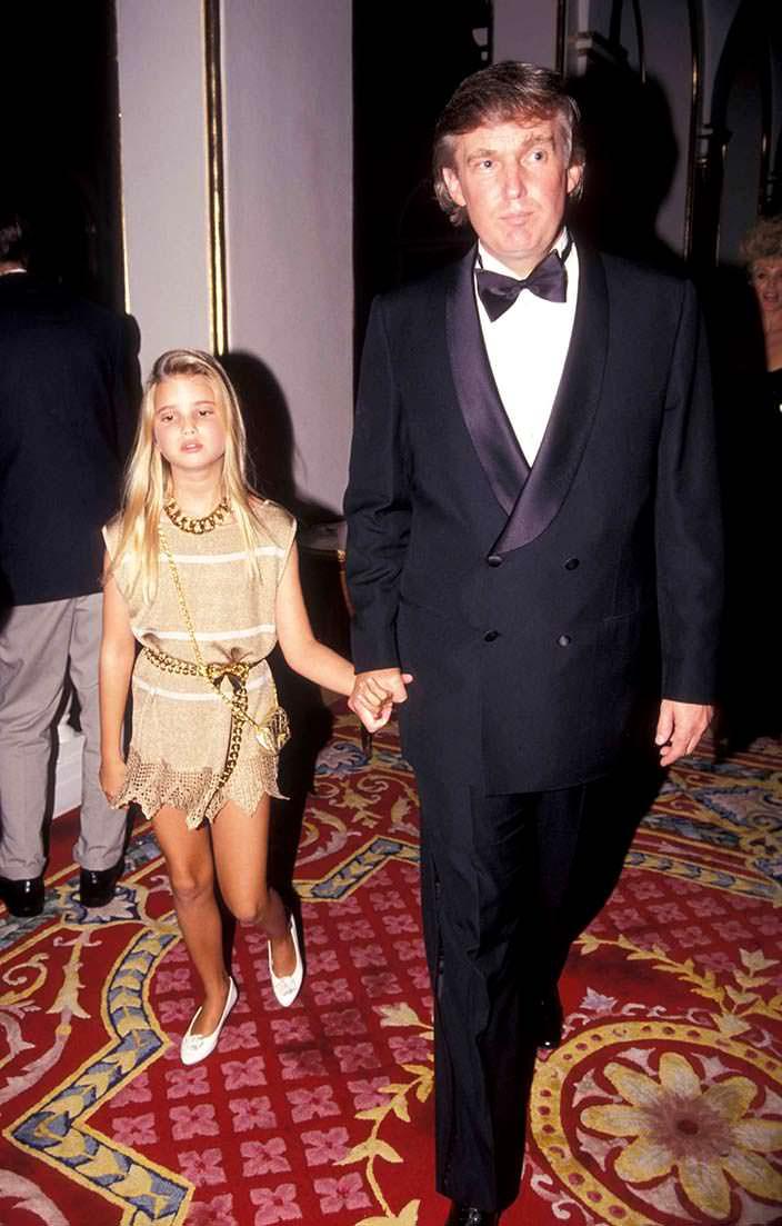 Фото | Иванка и ее отец Дональд Трамп в 1991 году