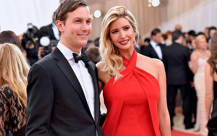 Фото | Иванка Трамп и ее муж Джаред Кушнер