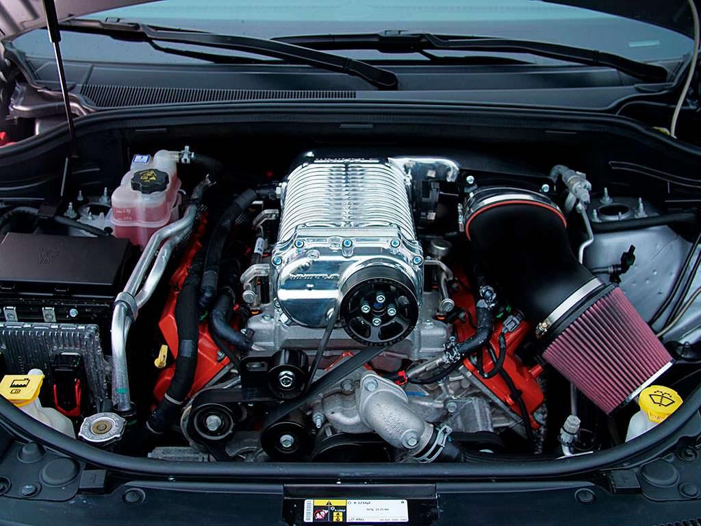 Двигатель 6,0-литра V8 мощностью 1 200 л.с.