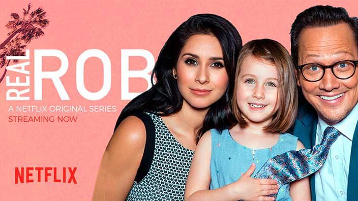Фото | Роб Шнайдер с женой и ребенком