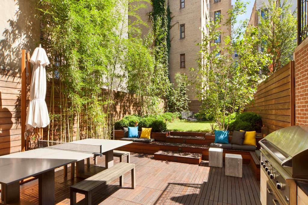 Квартира с собственным садом