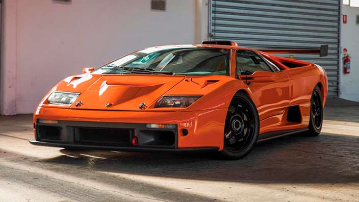 Lamborghini Diablo - итальянский сатана, дьявол скорости