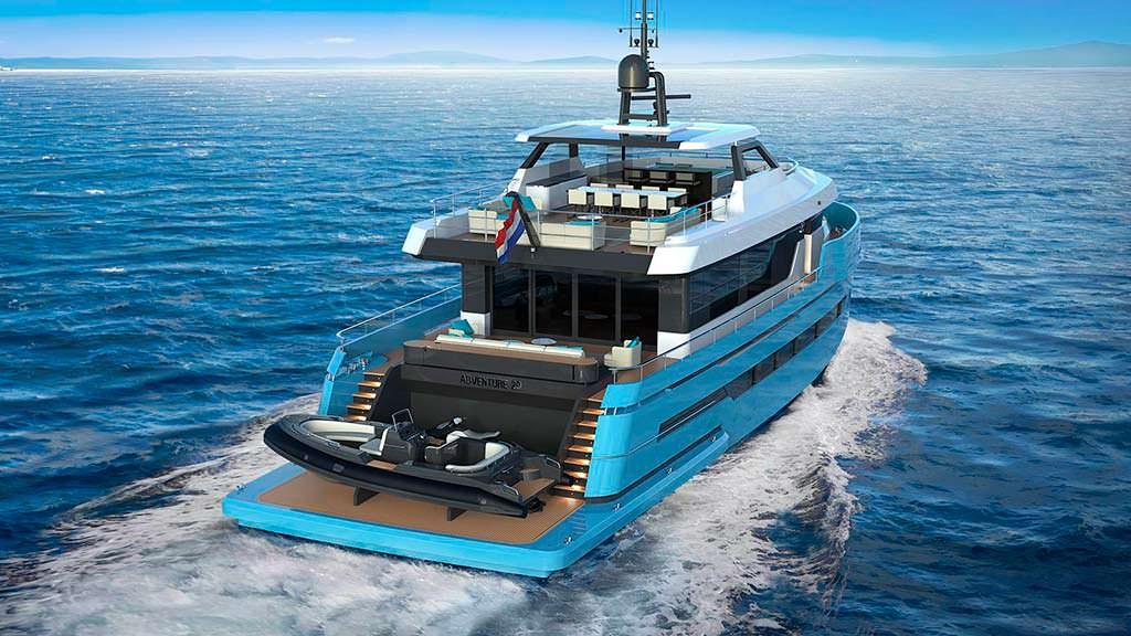 Яхта Lynx Adventure 29. Длина 29 метров