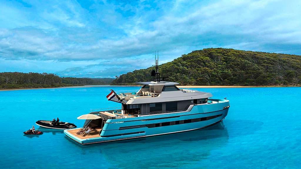 Яхта Lynx Adventure 29. Каюты для 8 гостей