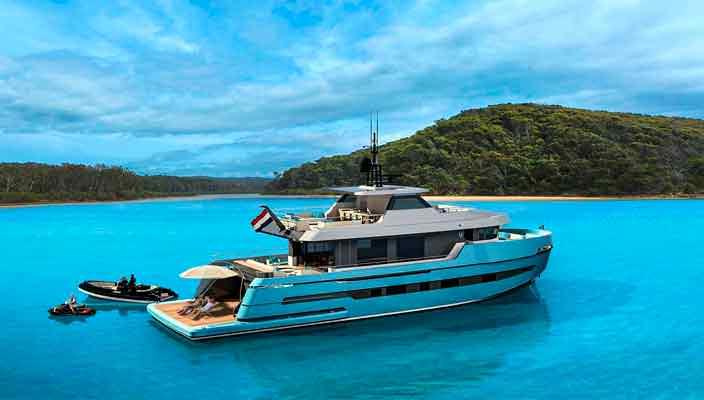 Верфь Lynx Yachts представила новую яхту Adventure 29   фото