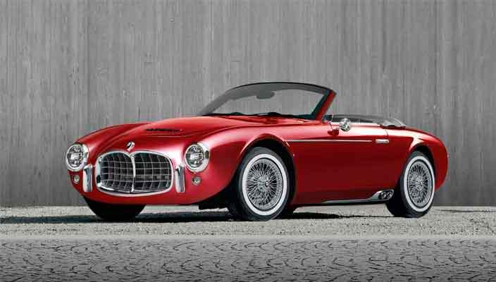 Винтажный автомобиль Ares Project Wami в стиле Maserati | фото