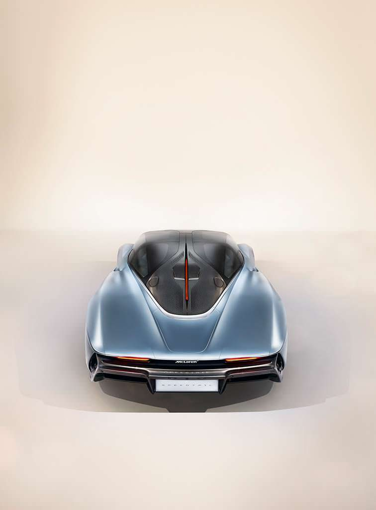 McLaren Speedtail: преемник F1