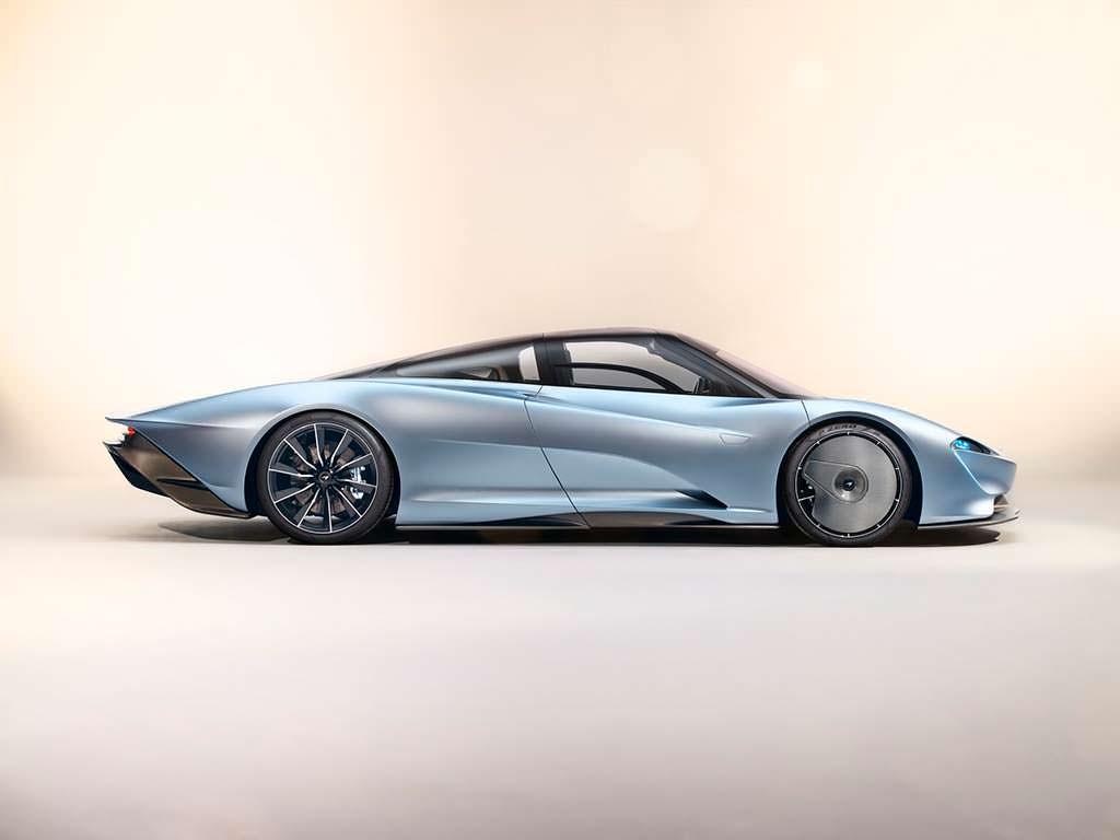 McLaren Speedtail: разгон до 300 км/ч за 12,8-секунды