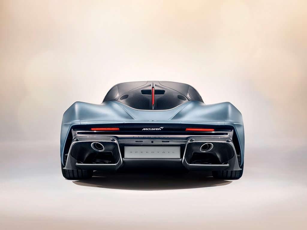 McLaren Speedtail. Цена $2,24 без учета налогов