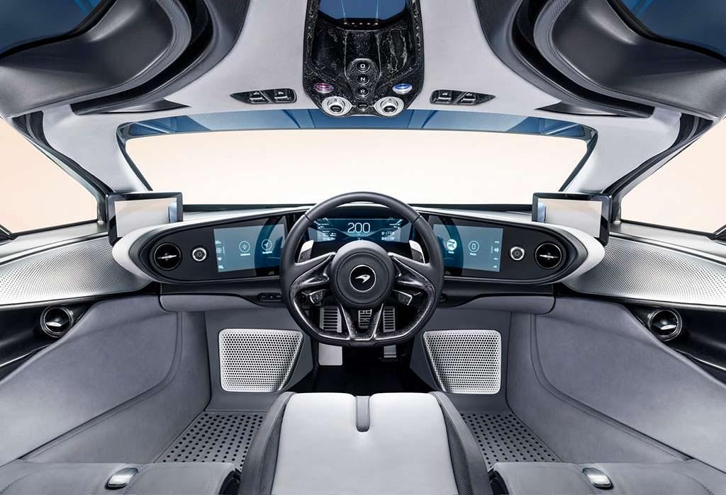 Фото салона McLaren Speedtail