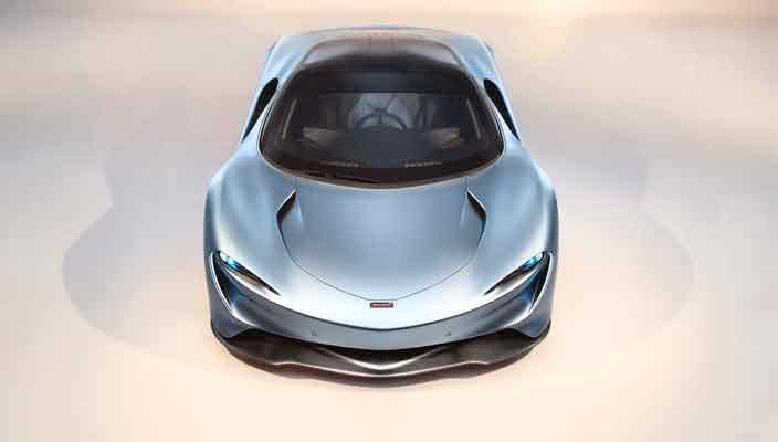 McLaren Speedtail: долгожданный преемник F1 официально | фото