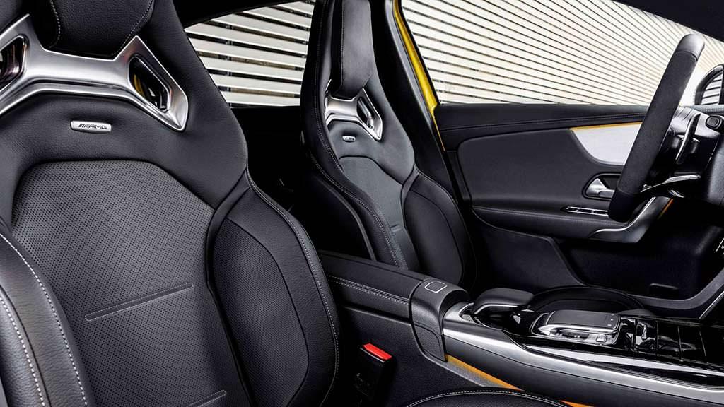 Спортивные сиденья Mercedes-AMG A35 4Matic. Кузов W177