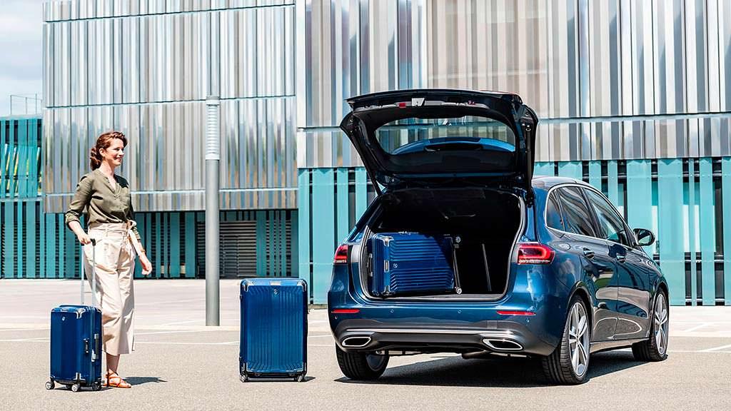 Багажник Mercedes-Benz B-Class 2019: до 1 540 литров