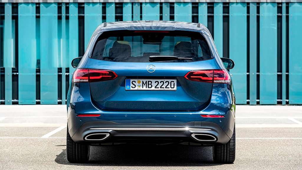 Новое поколение Mercedes-Benz B-Class 2019
