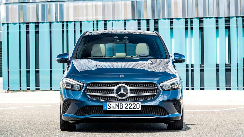 Mercedes-Benz B-Class 2019 года