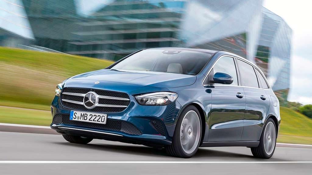 Новый Mercedes-Benz B-Class в кузове W247