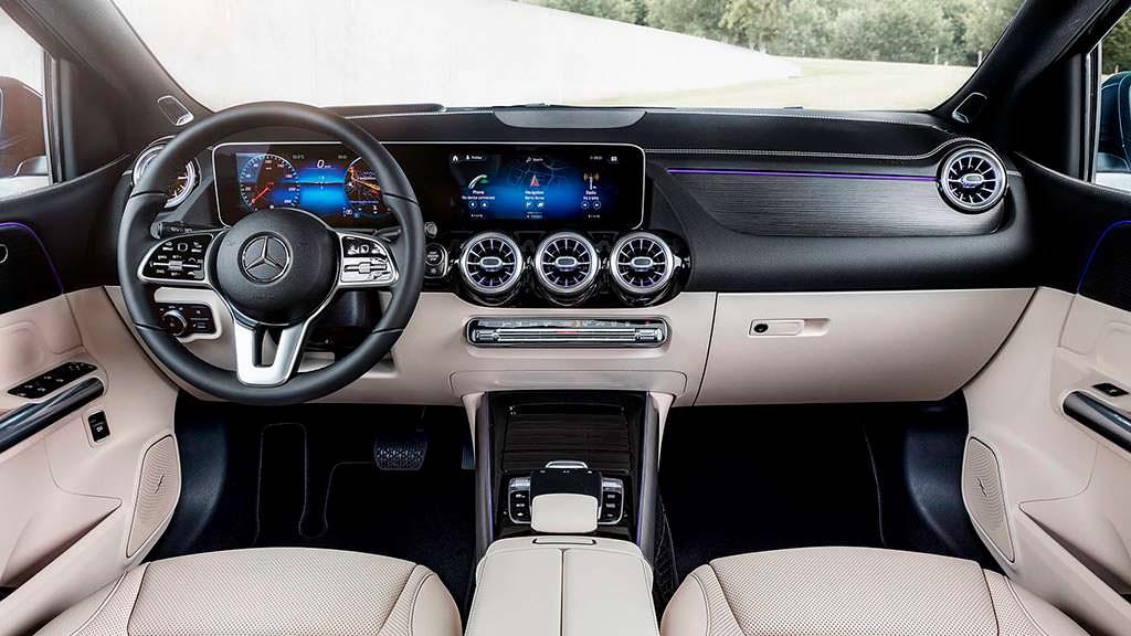 Фото салона Mercedes-Benz B-Class W247