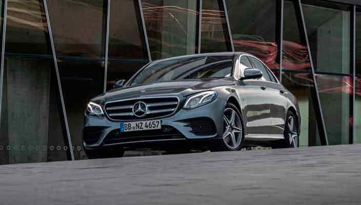 Гибрид Mercedes E-Class W213 (E300e и E300de) официально