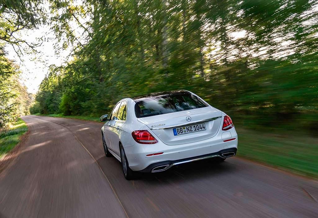 Гибрид Mercedes E300de W213