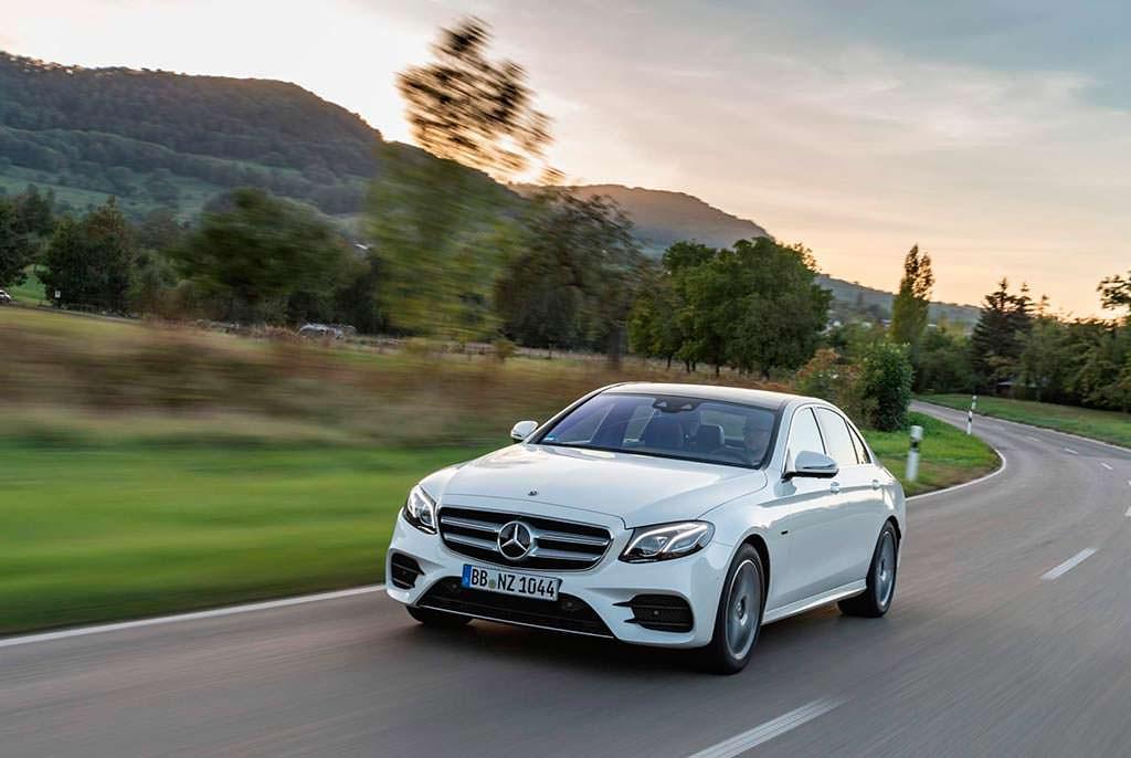 Дизель-гибрид Mercedes-Benz E300de W213