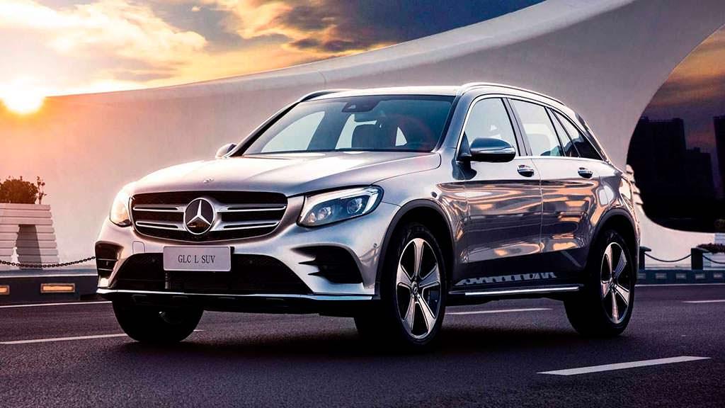 Удлиненный Mercedes-Benz GLC L специально для Китая