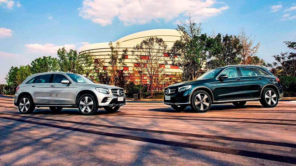 Длиннобазный Mercedes-Benz GLC L для Китая
