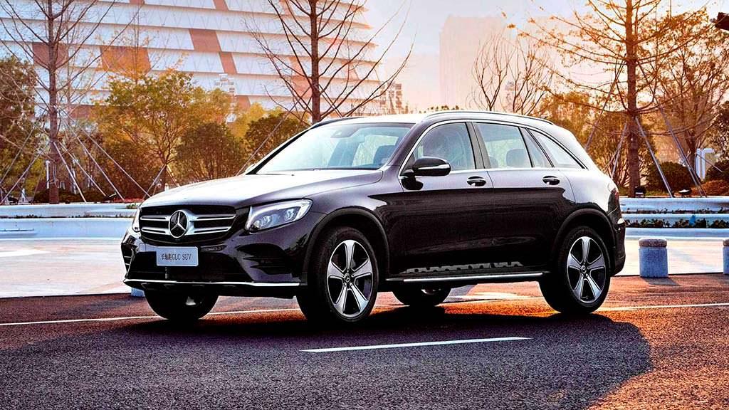 Кроссовер с длинной колесной базой Mercedes-Benz GLC L