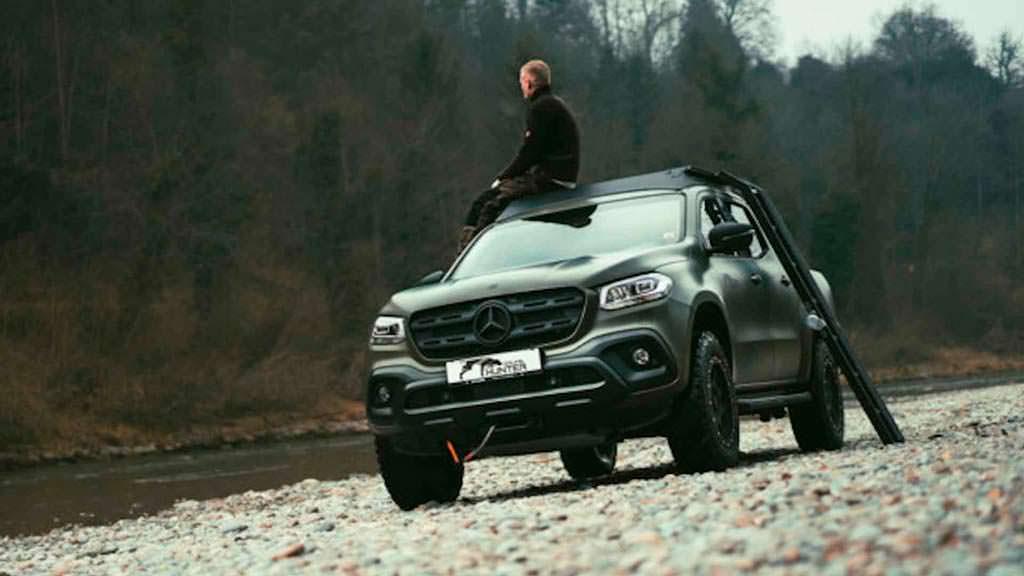 Пикап для охоты Mercedes Gruma Hunder X-Class