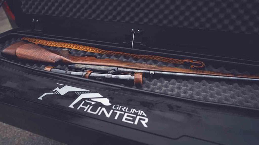 Охотничий Mercedes Gruma Hunder X-Class: отсек для винтовки