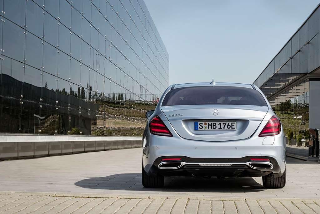 Премиальный гибрид Mercedes-Benz S560e