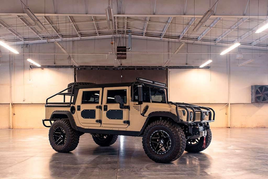 Армейский внедорожник Hummer H1. Милитари-тюнинг от Mil-Spec
