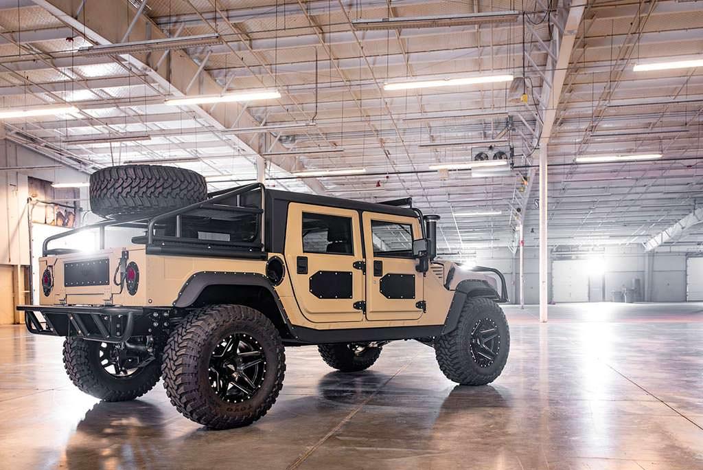 Hummer H1. Милитари-тюнинг от Mil-Spec