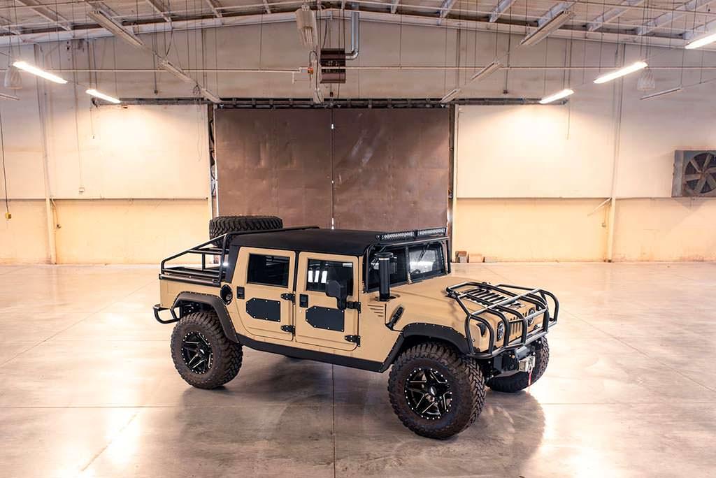 Военный Hummer H1 в тюнинге от Mil-Spec