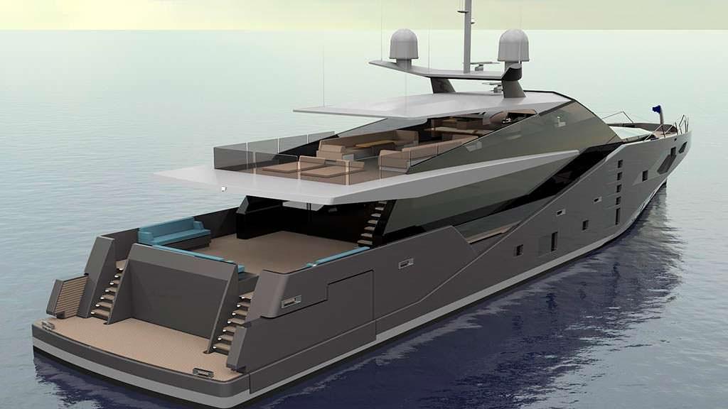 Яхта-невидимка для радара Stealth от Peter Bolke Design