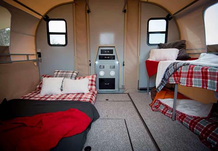 Прицеп-трансформер Camp365 на 6 спальных мест