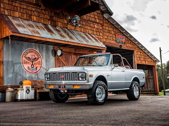 Рестомод Chevrolet K5 Blazer 1971 года от Ringbrothers
