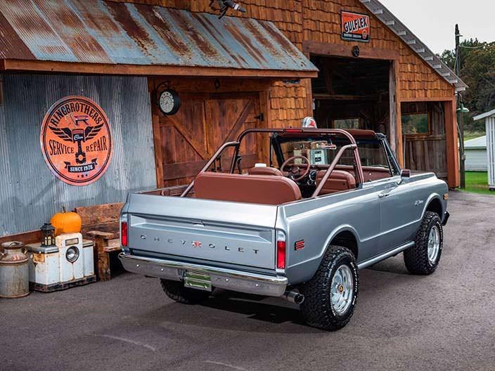 Кабриолет-внедорожник Chevrolet K5 Blazer 1971 года
